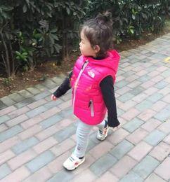 $enCountryForm.capitalKeyWord Australia - Children's Outerwear Boy and Girl Winter Warm vest Hooded Coat Children Cotton-Padded Down Jacket Kid Jackets 3-10 Years