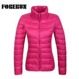 green parka women Australia - 14 Colors 2017 Winter Jacket Women Ultra Light Down Jackets Stand Collar Warmer Coat Solid Female Parka and Jacket Top Quality