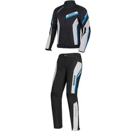 Breathable Summer Motorcycle Jackets Australia - SCOYCO Motorcycle Cycling Jacket Anti-fall Clothing Reflective Ventilate Moto Racing Clothing Mesh Suit JK100 In Summer