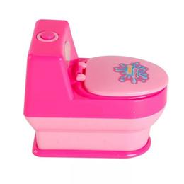 Pink Toy Kitchen Set Australia - Shake children Mini Kitchen toy set simulation small appliance home toy mini Automatic Toilet