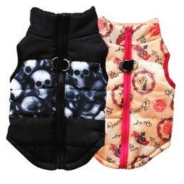 soft dog vest harness NZ - New Arrived Pet Dog Vest Autumn Winter Warm Soft Padded Vest Harness Puppy Small Dogs Coat Clothes Dog Shirt