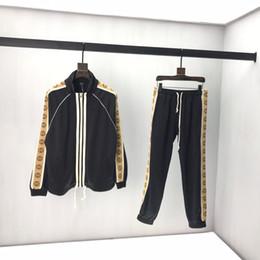 Wholesale long ankle length coats cardigans resale online - 2020Men s Tracksuits Sweatshirts Suits lusso Sports Suit Men Hoodies Jackets Coat Mens Medusa Sportswear Sweatshirt Tracksuit xshfbcl Jacket