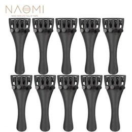 $enCountryForm.capitalKeyWord Australia - NAOMI Carbon Fiber Tailpiece 10PCS Violin Carbon Fiber Tailpiece W 4 Tuners 3 4 Violin Parts & Accessories New