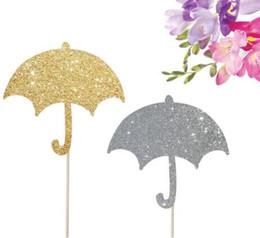 $enCountryForm.capitalKeyWord UK - glitter umbrella Baby cupcake toppers Food Picks rustic wedding party baby bridal shower birthday cake topper Secret Garden Party Decoration