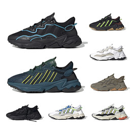 Wholesale gold t for sale – custom 2020 King Push Ozweego For Men Women Casual Shoes Era Pack Reflective Xeno Black Bright Cyan Pusha T Trainer Sports Sneakers