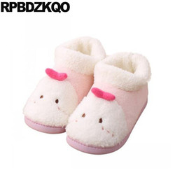 afc646fab2c casual animal furry woman shoes luxury brand embellished winter chinese  footwear korean fur cartoon plush fluffy pink fuzzy cute