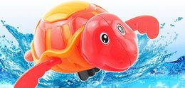 $enCountryForm.capitalKeyWord Australia - New fashionable and creative children's spring-up toy chains swimming tortoise bathing water toy