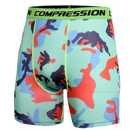3xl Compression Shorts Australia - Fashion-Wholesale 2019 New Fashion Summer Camouflage Bermuda Shorts Fitness Men Cossfit Bodybuilding Tights Camo Shorts Compression Shorts