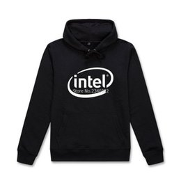 Intel s online shopping - for man and woman autumn spring jacket Programmers Intel sweatshirt creative printing hedging hooded coats