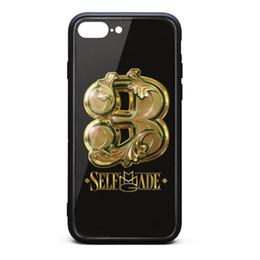 Make Phone Cases NZ - IPhone 8 Plus Case,iPhone 7 Plus Case J. Cole K Kutta Self Made Vol. 3 9H Tempered Glass Cover TPU Bumper Shock Absorption Phone Case