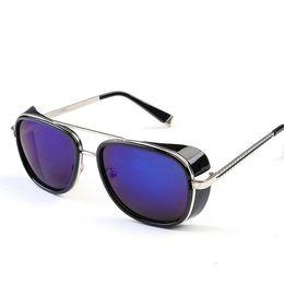 $enCountryForm.capitalKeyWord UK - New Arrival Glasses Same Paragraph Of Iron Man Metal Frame Eyeglasses Cool Retro Hiking Camping Fishing Cycling Sunglasses