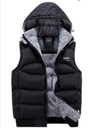 Venta al por mayor de Chaqueta de diseñador de lujo Moda para hombre Chaquetas con abrigo Chaleco con cuello de los hombres Diseñador de la marca Chaqueta de abrigo sin mangas