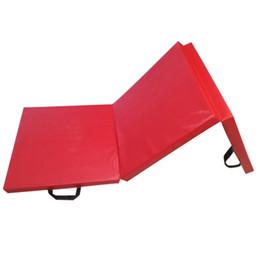$enCountryForm.capitalKeyWord UK - Tri-fold Yoga Mat Portable Home Fitness Accessories Sit-ups Pad Foldable Flip Pad Children Dance Practice Sports Sponge Mat
