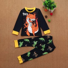 $enCountryForm.capitalKeyWord Australia - kids clothes boys Toddler Baby Girls Boys Cartoon Tops Pants Outfits Set Pajamas Sleepwear Long sleeve vetement enfant garcon