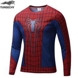 Superman Batman T Shirt Australia - Hot!2016 high quality superhero spider-man superman batman long sleeve shirt, T-shirt, the more you buy, the more benefits.