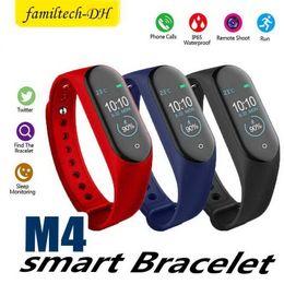 $enCountryForm.capitalKeyWord Australia - M4 Smart Band Fitness Tracker Watch Sport bracelet Heart Rate Smart Watch Fitbit 0.96 inch Smartband Monitor Health Wristband