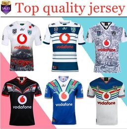 03f7be31 2019 2020 Auckland Warriors rugby jerseys 18 19 20 Warrior Commemorative  Edition Zealand 9S men rugby shirts NZ Warriors shirts size:S-3XL