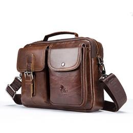 $enCountryForm.capitalKeyWord NZ - Etonteck Genuine Leather Men Shoulder Bag Vintage Male Handbags Patchwork Messenger Bags Male Business Crossbody Bag Handtasche MX190724