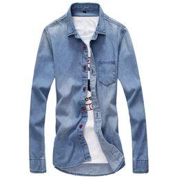 $enCountryForm.capitalKeyWord Australia - Pop2019 Activity Run Amount Fund Factory Man Wash Cowboy Long Sleeve Urban Style Shirt Enough Goods