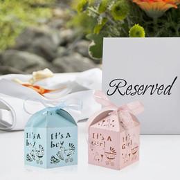 $enCountryForm.capitalKeyWord Australia - 50PCS Baby Shower Party Candy Box Wedding Candy Box Decoration Mubarak Strip Star Moon Decor EID Party Supplies Ramadan Muslim
