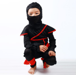 $enCountryForm.capitalKeyWord UK - Halloween COSplay Anime Costume Child Ninja Costumes Ninja Assassin Night Suit Set