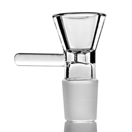 Cheap hookah aCCessories online shopping - 14mm mm male Bowl Glass clear cheap bowls mm Glass Bowl mm Glass Bowl Smoking Accessories Tobacco For Hookahs Bong