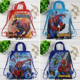 $enCountryForm.capitalKeyWord Australia - 1Pc Drawstring Bag Mario School Backpack for Boys Superhero School bag Kids Cartoon Book