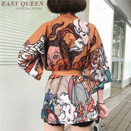 $enCountryForm.capitalKeyWord Australia - Kimono cardigan blouse shirt summer beach kimonos woman 2018 cosplay yukata female obi Japanese streetwear komono FF1126
