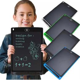 Опт Творческое 8,5 дюйма Ультратонкий ЖК дощечку цифровой графический планшет игрушки почерка колодки Graphic Board Электронная таблетка