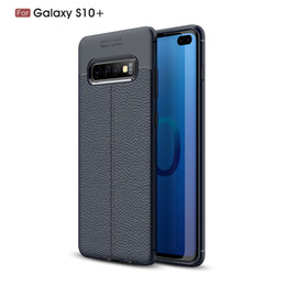 SamSung galaxy S pluS coverS online shopping - GalaxyS10 Plus Shockproof Case Soft Silicone Rubber Cover For Samsung Galaxy S10 S10lite Phone Case S10 Plus Fundas Mobile Phone Cover S