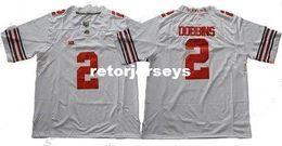 $enCountryForm.capitalKeyWord Australia - Cheap custom Ohio State Buckeyes #2 J.K. Dobbins White Limited Stitched College Men Jersey Customized Any name number Stitched Jersey XS-5XL