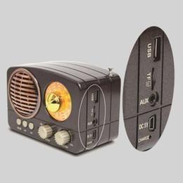 $enCountryForm.capitalKeyWord NZ - M-161BT Durable USB Rechargeable AM FM SW TF Card Slot Radio Mini Gift Multifunction Portable ABS Retro Bluetooth Speaker Audio