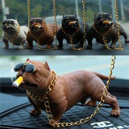 $enCountryForm.capitalKeyWord NZ - NEW Dog Decor Bully Dog Dolls Ornaments Simulated Car Interior Pendant Home Office Decor Toys Car Interior Accessories