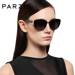 Sunglasses Sales NZ - Parzin Fashion Elegant Women's Sunglasses Style High Quality Brand Designer Uv400 Sunglasses Women Polarized Hot Sale Y19052001