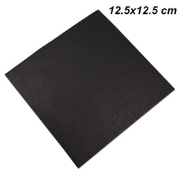 dvd storage bags Canada - 12.5x12.5 cm Black Kraft Paper High Quality Disc CD Sleeve Thick DVD Paper Bag Cover Favor Party CD Paper Board Envelope Storage Packing Box
