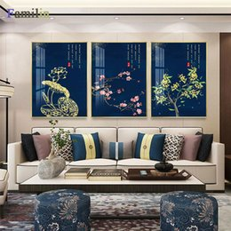 Discount modern chinese wall decorations - Chinese red palace wall art Canvas Painting Art Print Poster Picture Wall Modern Minimalist Bedroom Living Room Decorati