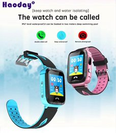 Gps low online shopping - 1 inch color screen GPS Tracker V6G Smart Watch realtime location trace monitor Low power alarm Waterproof Remote turn off