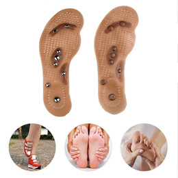 massager feet Australia - Foot massager Magnetic Therapy Thener foot Massage Pads Clean Health Pain Acupuncture Insoles Shoe mat Care Pad