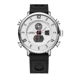 Discount sport stopwatches - WEIDE Men Sport Fashion Analog Stopwatch Quartz Luxury Brand Silicone Strap Watches Man Wristwatch Relogio Masculino