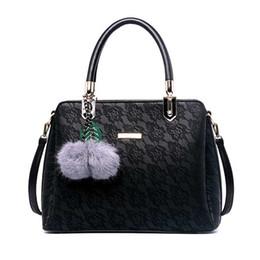 Ladies Lace Handbags Australia - Women Lace Handbag Exquisite Female Flower Shoulder Bags Ladies Printing Handle Bag Casual Messenger Bag Holiday Bolsa Ss7007