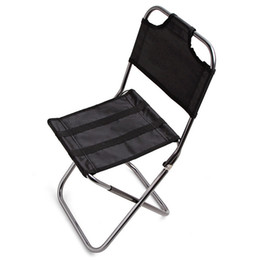 Seat beach online shopping - Ultralight Fishing Chair Portable Foldable Seat Pop Up Camping Hiking Stool Outdoor Furniture Garden Light Caming Beach Chairs