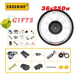 24 Inch Bicycle Australia - E bike Conversion Kit 36V 250W 20 24 26 28 29 inch 700c EBike Electric Bicycle Front Motor Wheel