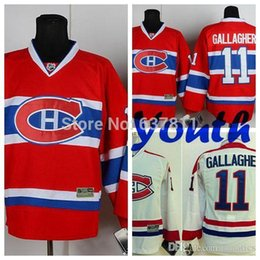 $enCountryForm.capitalKeyWord Australia - Wholesale Kids Montreal Canadiens Hockey Jerseys Youth #11 Brendan Gallagher Jersey Children Authentic Stitched Jersey