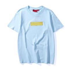 906f8e932acb XSW44 summer Box embroidery Logo Matcha Green Peach Pink S UPREME t shirts  Men Women T-shirt skateboard tshirt Short Sleeve Tops