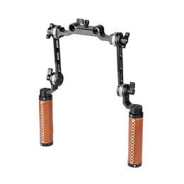 $enCountryForm.capitalKeyWord UK - CAMVATE ARRI Rosette Dual Handgrip With Adjustable Extension Arm For DV Camcorder Handheld Shoulder Rig C2073