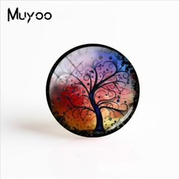 Plants Tree Painting Australia - New Art Plant Painting Handmade Photo Cabochons Dome Life Trees Glass Photo Cabochon 25mm Gifts Women