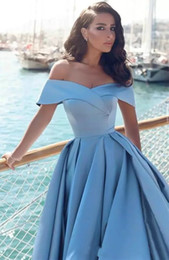 china dress zipper Australia - Modern Light Blue Long Formal Prom Dresses 2019 African Elegant Sweetheart Front Split Popular Evening Prom Gowns China