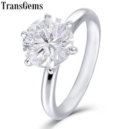 Jewelry & Watches Jewelry & Watches Active Solid 10k White Gold 9x13mm Emerald White Topaz Engagement Wedding Ladies Ring Fixing Prices According To Quality Of Products