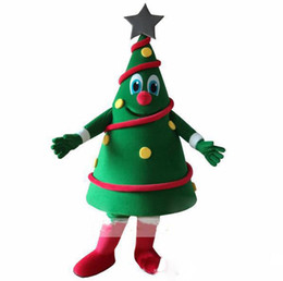 $enCountryForm.capitalKeyWord UK - 2018 Hot sale Green Christmas Tree Mascot Costume Christmas Carnival performance apparel Free Shipping