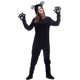 $enCountryForm.capitalKeyWord UK - New Fashion Women Long Sleeve Cat Girl Halloween Costume Party Performance Sexy Costume Cat Long Jumpsuit Cosplay Game Festive Uniform